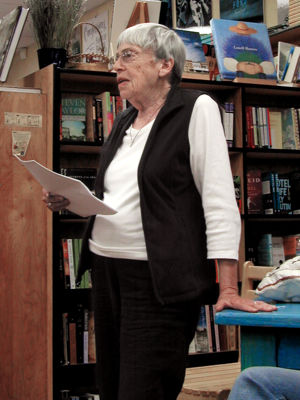 Ursula K. Le Guin reading from Lavinia