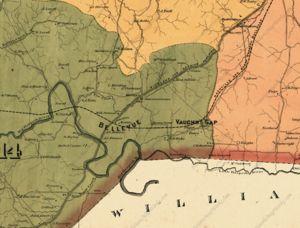 Vaughns Gap, Tennessee on