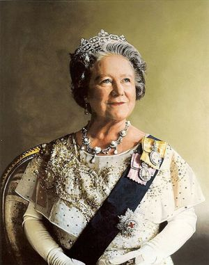 Portrait of Her Majesty Queen Elizabeth The Queen Mother