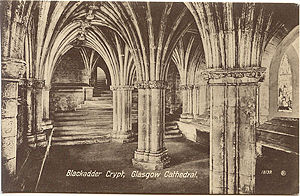 Blackadder Crypt, Glasgow Cathedral