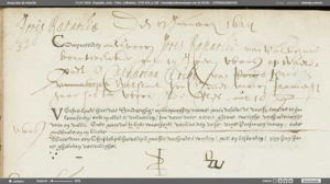 de Rapalje, Joris marriage record, Int. Marriage 13 January, 1624 Joris Raparlie and Catharina Triko