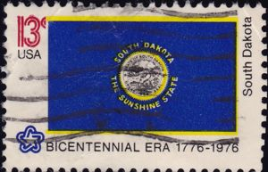 South Dakota 13 Cents US Postage