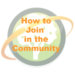 How to Join Community Logo
