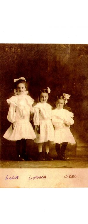 Dresses of Special Occasion- 3 of a kind Phaneuf Girls