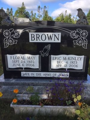 Eric McKinley And flora May Brown