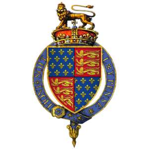 Edward III of England Coat of Arms By Rs-nourse via Wikimedia Commons