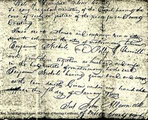 Benjamin Nichol (1769-1843)   WikiTree FREE Family Tree