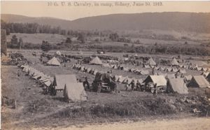 Camp Sidney, New York, Ride of the Buffalo Soldiers