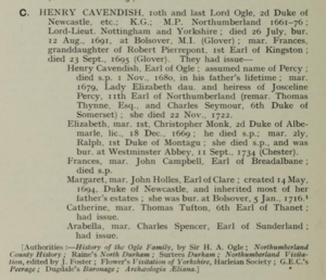 Henry Cavendish (Clay, 1913)