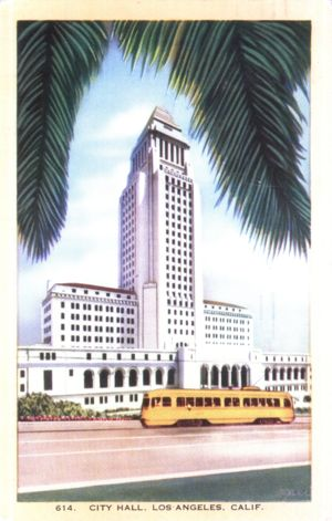 City Hall, Los Angeles CA