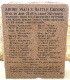First battle of Adobe Walls, Hutchinsons County Texas