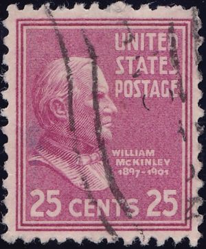 William McKinley 25 Cents US Postage