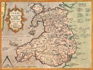 Earliest Known Map of Wales