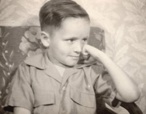 Charles Manson at 5 or 6 years of age