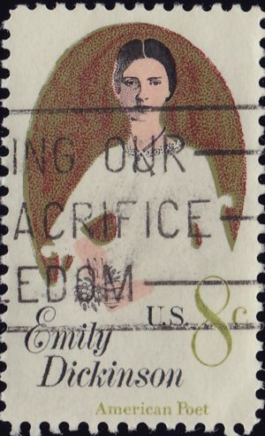 Emily DIckinson 8 Cents US Postage
