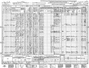 1940 US Census - New York