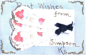 Best Wishes from Simpson, Kansas