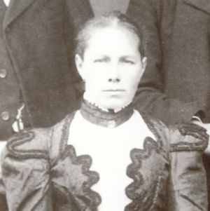 Louise from Johann-Georg Fischer Family photo about 1900 in Germany