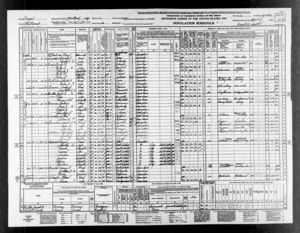 Frank Granstrom in 1940 Census Records