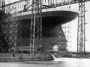 Titanic in H & W Shipyard