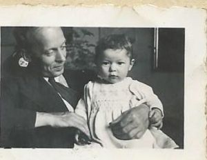 Marx Goldmark with daughter