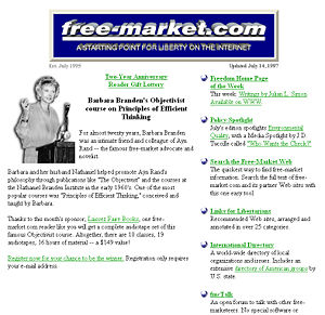 Free-market.com in 1997