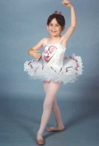 0009c6564 I was such a cute little kid doing my first ballet dance at recital to
