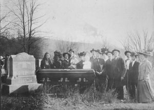 Salathiel Stump Funeral