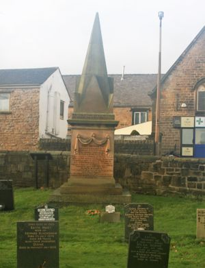 The Huskar Memorial, Silkstone Church Yard