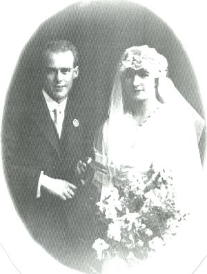 Wesley Ince and Elsie Maude Smiths Wedding Day