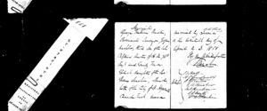 Marriage Register - AUSTIN, George Frederic & MACHIN, Emily