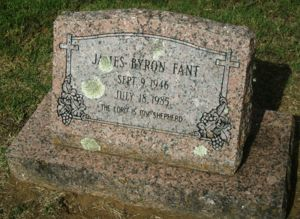James Fant Tombstone