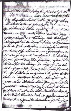 Otway B. Norvell - Application to West Point 1856 Page 2