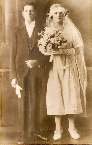 Wedding of Joe Reeves & Rita Magnay