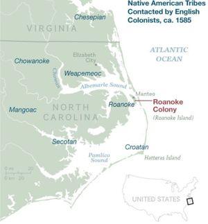 Us Southern Colonies British North Carolina Image 2