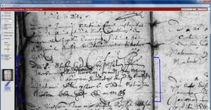 Baptism Entry for Jacob Bourgeois