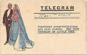 Wedding Telegram