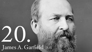 James A. Garfield 20th US President