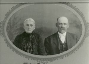 Eleazar and Ann Mary Peden