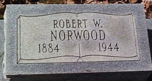 Robert Norwood Tombstone