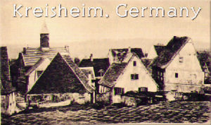 Kriegsheim: called 'Kresheim' or 'Griesheim'