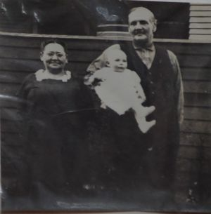 Charles and Mary Wilder with grandson Henry Ashworth