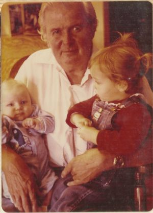 Erik, Grandpa Stan and Renee