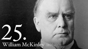 William McKinley 25th US President