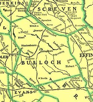 Bulloch County Georgia