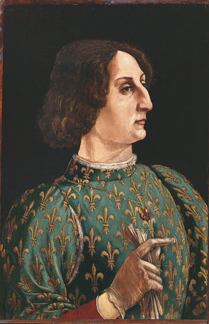Portrait of Galeazzo Maria Sforza, Duke of Milan