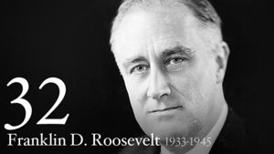 Franklin Roosevelt 32nd President