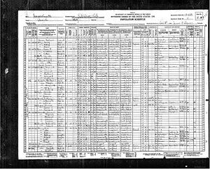 1930 census page