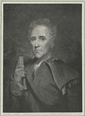 Daniel Boone as a Young Man