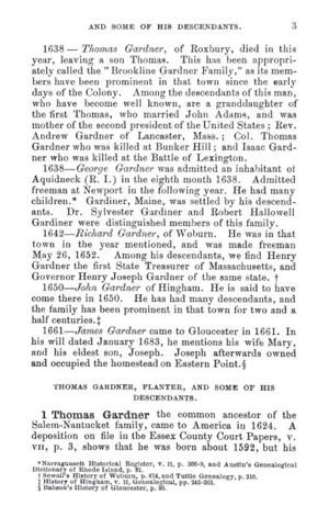 Thomas Gardner, Planter; page 3